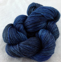 Load image into Gallery viewer, The Alpaca Yarn Company's Mariquita Hand Dyed Yarn in Blue Suede Shoes #558