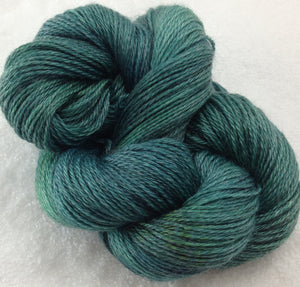 The Alpaca Yarn Company's Mariquita Hand Dyed Yarn in Rainforest #560