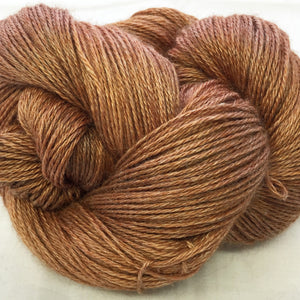 The Alpaca Yarn Company's Mariquita Hand Dyed Yarn in Copperpot #561
