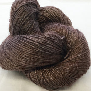 The Alpaca Yarn Company's Mariquita Hand Dyed Yarn in Lava Cake #562