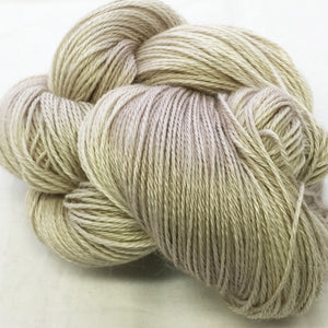 The Alpaca Yarn Company's Mariquita Hand Dyed Yarn in Mushroom Bisque #563