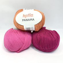 Load image into Gallery viewer, Katia Panama 100% Cotton Yarn, group of 3