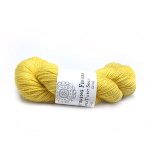 Nurturing Fibres SingleSpun Lace in Buttercup