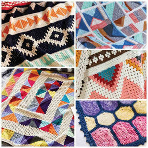 The Art of Crochet Blankets: 18 Projects