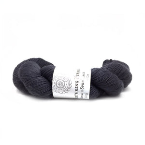 Nurturing Fibres SingleSpun Lace in Charcoal