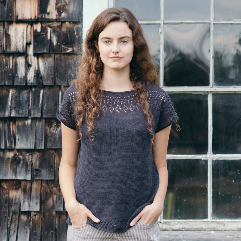 Cullum Linen Top | Knit Pattern