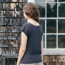 Load image into Gallery viewer, Cullum Linen Top | Knit Pattern