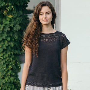 Quince & Co Pattern | Cullum Linen Top