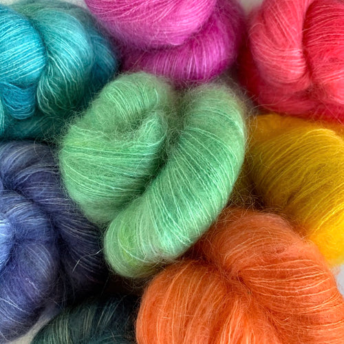 Loopy # 6 Kid Silk Mohair