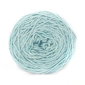 Nurturing Fibres Eco-Cotton Yarn in Aqua