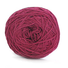 Load image into Gallery viewer, Nurturing Fibres Eco-Cotton Yarn in Bordeaux