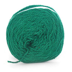 Nurturing Fibres Eco-Cotton Yarn in Emerald