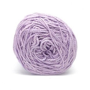 Nurturing Fibres Eco-Cotton Yarn in Lilac