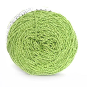 Nurturing Fibres Eco-Cotton Yarn in Lime