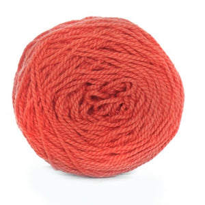 Nurturing Fibres Eco-Cotton Yarn in Sunkissed Coral