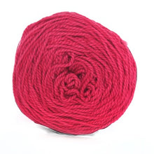 Load image into Gallery viewer, Nurturing Fibres Eco-Cotton Yarn in Ruby Pink
