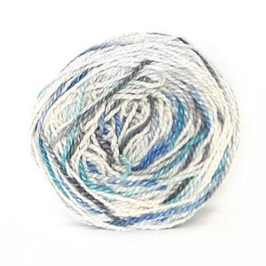 Nurturing Fibres Eco-Fusion Speckled Yarn Raindrops