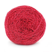 Load image into Gallery viewer, Nurturing Fibres Eco-Fusion Yarn in Ruby Pink