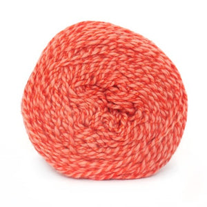 Nurturing Fibres Eco-Fusion Yarn in Sunkissed Coral