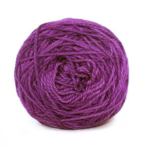 Nurturing Fibres Eco-Cotton Yarn in Violet