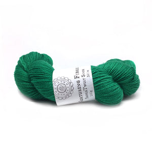 Nurturing Fibres SuperTwist Sock in Emerald