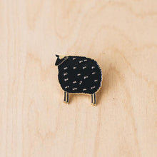 Load image into Gallery viewer, Fluffy Sheep Enamel Pin