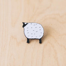 Load image into Gallery viewer, K2TOG Club | Fluffy Sheep: Enamel Pin