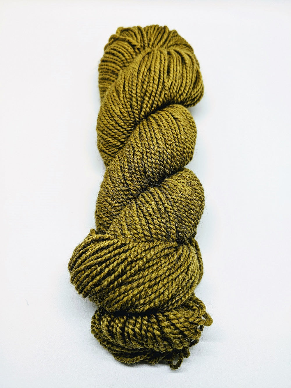 Illimani's Santi Yarn in Golden Green