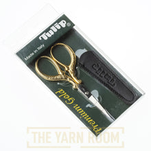 Load image into Gallery viewer, Tulip | Embroidery Scissors. Premium Gold, Straight Blade