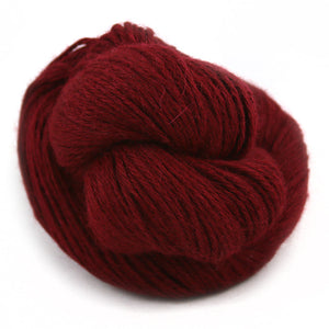 Illimani Royal 1 Alpaca Yarn in Burgundy