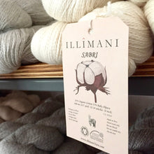 Load image into Gallery viewer, Illimani's Sabri Yarn on the shelf at The Yarn Room