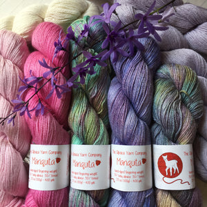 The Alpaca Yarn Company's Mariquita Hand Dyed Yarn full skeins