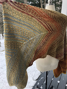 Social Distance Wrap Kit | A Knit Design by Lucinda Iglesias