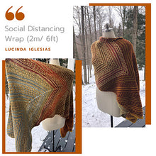 Load image into Gallery viewer, Social Distance Wrap Kit | A Knit Design by Lucinda Iglesias
