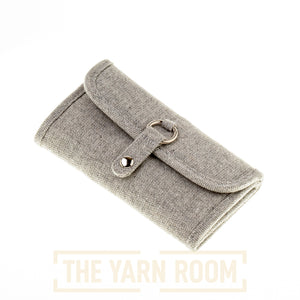 Tulip | Etimo Crochet Hook Case: Grey Wool Glimmer