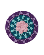 Load image into Gallery viewer, Modern Crochet Mandalas: 50+ Colorful Motifs to Crochet