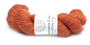 Nurturing Fibres SuperTwist Sock in Maple