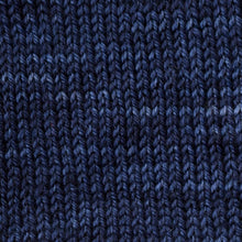Load image into Gallery viewer, Sweet Georgia Flaxen Silk Fine, Knitted swatch in Marine