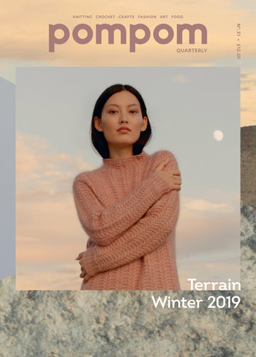 Front Cover Pompom Mag Issue 31: Terrain