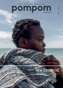 PomPom Quarterly | Issue 30: Sea Change. Autumn 2019. Cover.