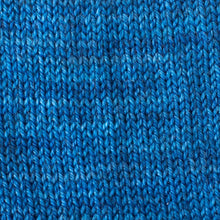 Load image into Gallery viewer, Sweet Georgia Flaxen Silk Fine, Knitted swatch in Sapphire