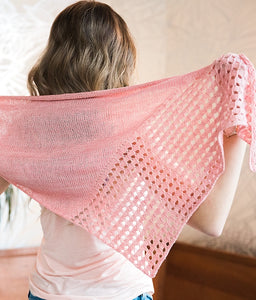 Sweet Georgia Pattern | Sheaves Shawlette