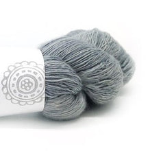 Load image into Gallery viewer, Nurturing Fibres SingleSpun Lace in Silver