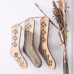 Twig & Horn | Argyle Sock Blockers