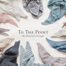 Load image into Gallery viewer, To The Point | The Knitted Triangle