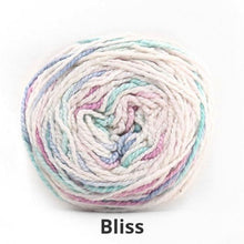 Load image into Gallery viewer, Nurturing Fibres Eco Fusion Speckled Yarn in Bliss NEW!