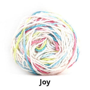 Nurturing Fibres Eco Fusion Speckled Yarn in Joy NEW!