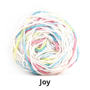 Nurturing Fibres Eco-Cotton Speckled Yarn Joy
