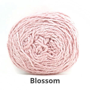 Nurturing Fibres Eco-Cotton Yarn in Blossom