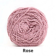 Load image into Gallery viewer, Nurturing Fibres Eco-Cotton Yarn in Rose